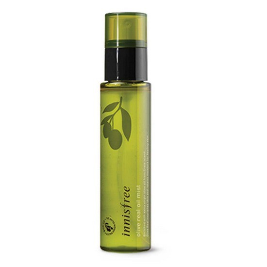 Xịt Khoáng Dưỡng Ẩm Chiết Xuất Oliu Vàng Innisfree Olive Real Oil Mist 80ml