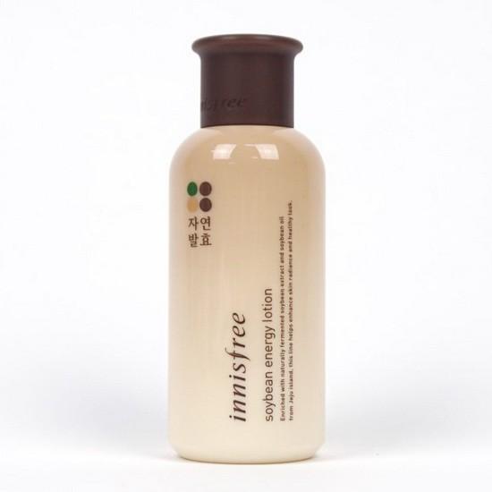 Sữa Dưỡng Sáng Da Và Chống Lão Hóa Chiết Xuất Từ Đậu Nành Innisfree Soybean Energy Lotion 160ml