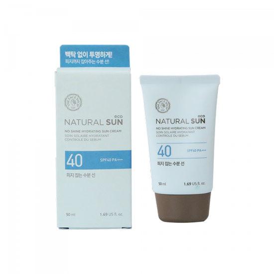 Kem Chống Nắng The Face Shop No Shine Hydrating Sun Cream SPF40 PA+++ 50ml