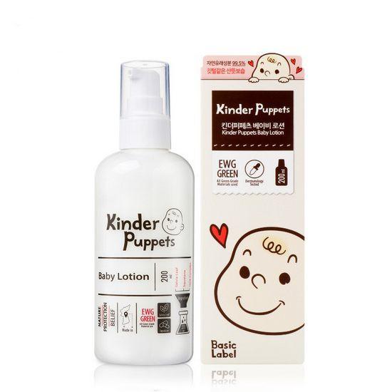 Sữa Dưỡng Chăm Sóc Da Toàn Thân Dành Cho Em Bé Kinder Puppets Baby Lotion