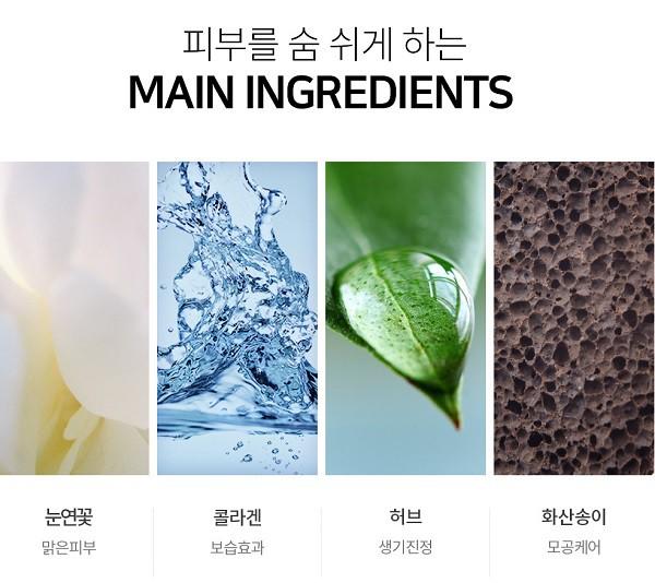 Bộ Phấn Nước Dưỡng Ẩm Và Chống Lão Hóa Lime V Collagen Ample Cushion Set SPF 50+ PA+++