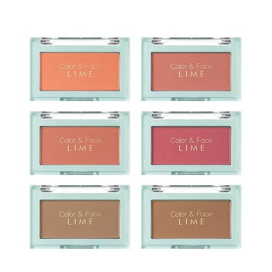 Phấn Má Hồng Đa Năng Lime Color & Face Single Blusher 4.5g
