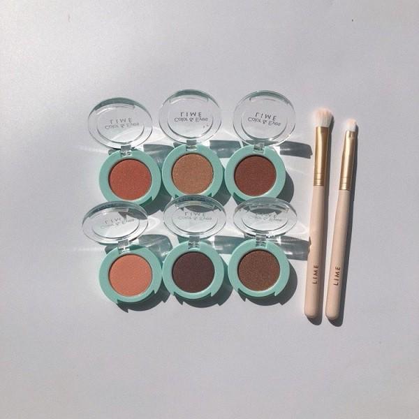 Phấn Mắt Nhũ Thời Thượng Lime Color & Eyes Single Shadow 1.4g