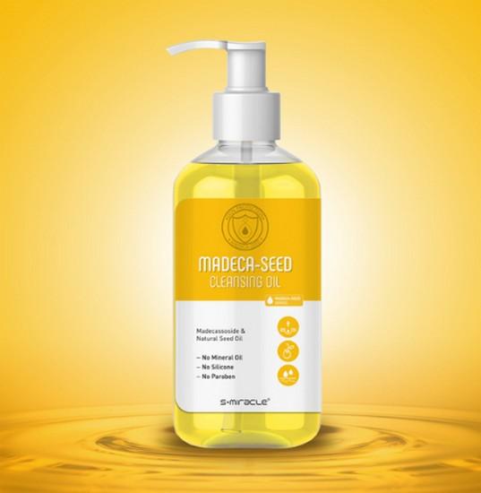 Dầu Tẩy Trang Sạch Nhờn Ngừa Mụn S+Miracle Madeca-Seed Cleansing Oil
