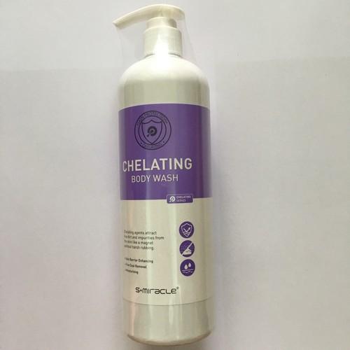 Sữa Tắm Trị Mụn Lưng Và Sạch Da 24h S-Miracle Chelating Body Wash 480ml