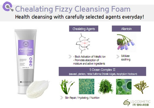 Sữa Rửa Mặt Sủi Bọt Thải Độc Và Giữ Ẩm Da S-Miracle Chelating Fizzy Cleansing Foam 200ml