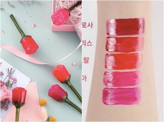 Son Hoa Hồng Quyến Rũ Labiotte Flomance Lip Color [Shine] 3.3g