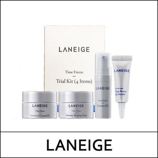 Bộ Dưỡng Chống Lão Hóa Da Laneige Time Freeze Trial Kit (4 sản phẩm)