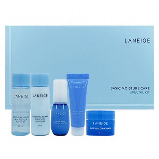 Bộ Kit Dưỡng Ẩm Da Laneige Basic Moisture Care Special Kit (5 items)