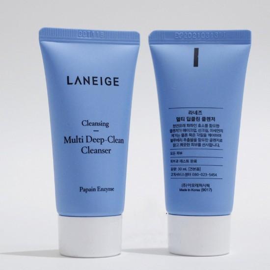 Sữa Rửa Mặt Laneige Multi Deep-Clean Cleanser 30ml