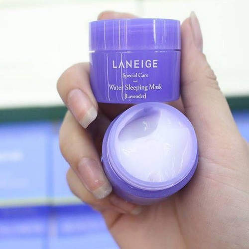 [BIG SALES] Mặt Nạ Ngủ Cấp Nước Và Dưỡng Sáng Da Laneige Water Sleeping Mask 15ml (Mới - Hương Lavender)