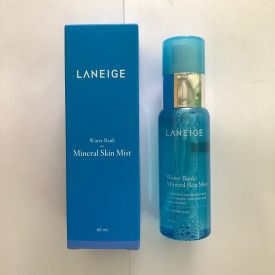 Xịt Khoáng Dưỡng Ẩm Laneige Water Bank Mineral Skin Mist 60ml