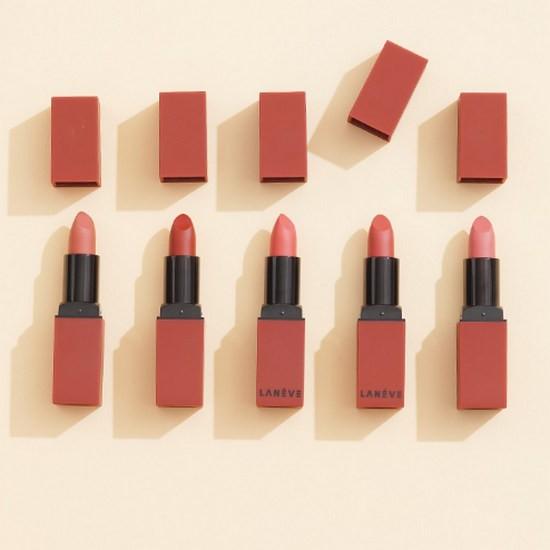 Son Lì Dạng Thỏi Lanéve Rose Velvet Lipstick