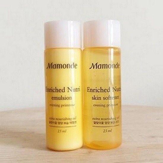 Bộ Dưỡng Da Mamonde Enriched Nutri Set (Skin Softener- Emulsion) – Dùng Thử