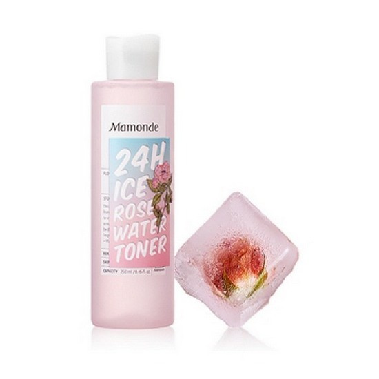 Toner Hoa Hồng Dưỡng Ẩm Mamonde 24h Ice Rose Water Toner