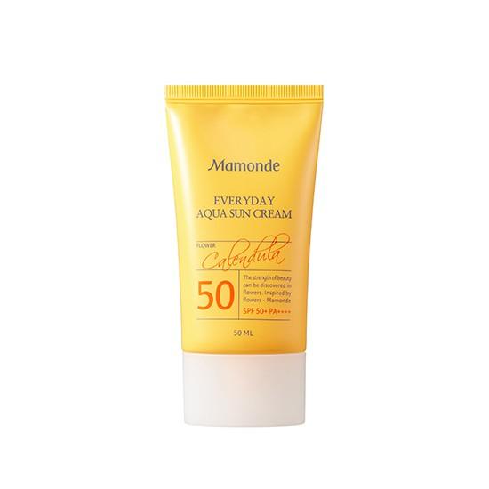 Kem Chống Nắng Dưỡng Ẩm Cho Da Mamonde Everyday Aqua Sun Cream SPF50 + PA++++ 50ml