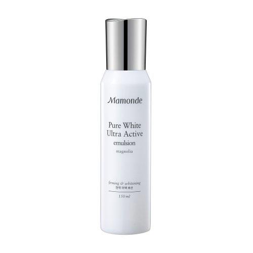 Sữa Dưỡng Trắng Da Mamonde Pure White Ultra Active Emulsion 150ml