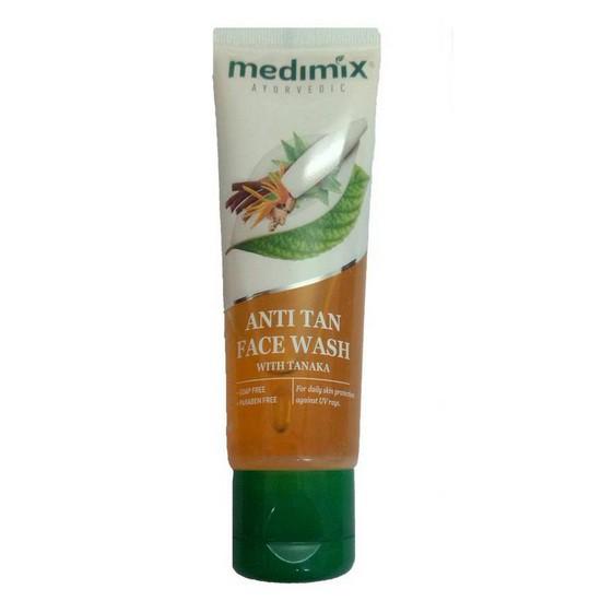 Sữa Rửa Mặt Thảo Dược Sáng Da Medimix Anti Tan Facewash 50ml