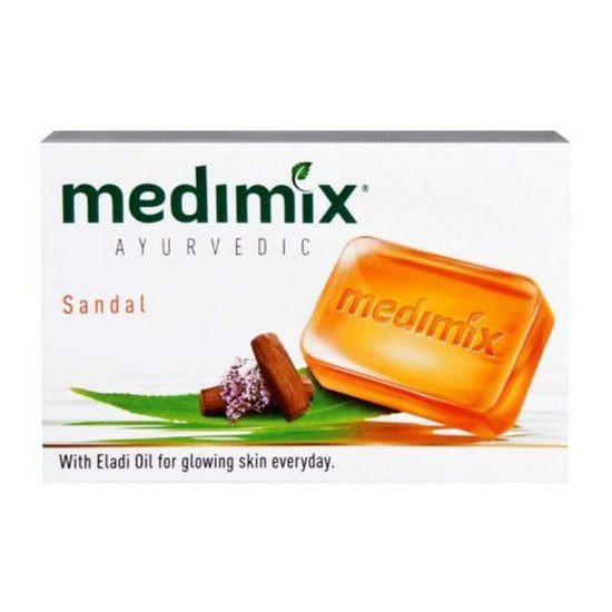 Xà Bông Trị Mụn Và Làm Sáng Da Chiết Xuất Đàn Hương Medimix Sandal Soap 75g