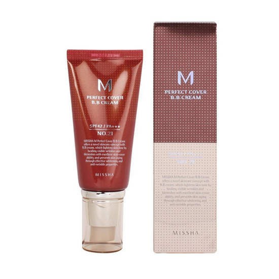 Kem BB Missha M Perfect Cover BB Cream SPF42/PA++ 50ml