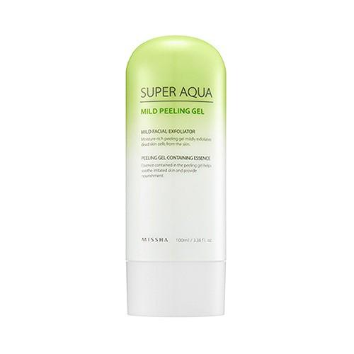 Tẩy Tế Bào Chết Dạng Gel Missha Super Aqua Mild Peeling Gel 100ml