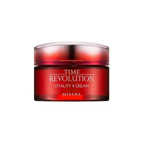 Kem Dưỡng Cải Thiện Nếp Nhăn Missha Time Revolution Vitality Cream 50ml
