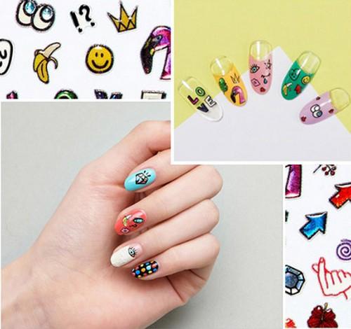 Miếng Dán Móng Nghệ Thuật Missha Self Nail Salon Decor Sticker