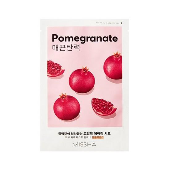 Mặt Nạ Tăng Cường Độ Đàn Hồi Da Tinh Chất Lựu Đỏ Missha Pomegranate Airy Fit Sheet Mask