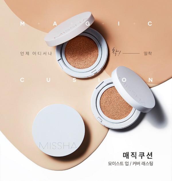 Phấn Nước Kiềm Dầu Missha M Magic Cushion Cover Lasting SPF50+ PA+++ (Kèm Lõi Thay)