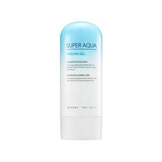 Tẩy Da Chết Làm Mịn Da Missha Super Aqua Peeling Gel 100ml