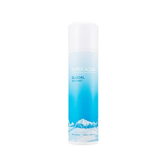 Xịt Khoáng Dưỡng Dịu Da Missha Super Aqua Glacial Water Mist
