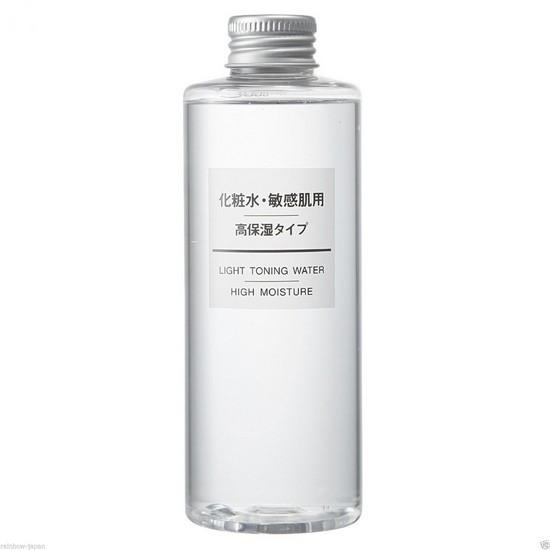 Nước Hoa Hồng Dưỡng Ẩm Cho Da Hiệu Quả Muji Light Toning Water High Moisture 200ml