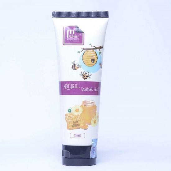 Tẩy Tế Bào Chết Chiết Xuất Từ Mật Ong Thiên Nhiên Mwhite Natural Honey Gel 180ml