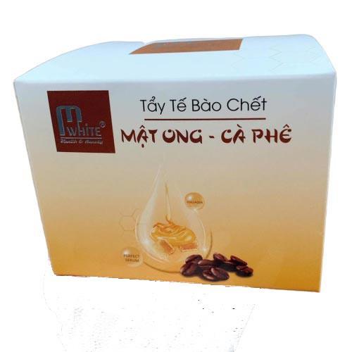 Tẩy Tế Bào Chết Chiết Xuất Từ Mật Ong - Cà Phê Mwhite Natural Honey Gel 400g