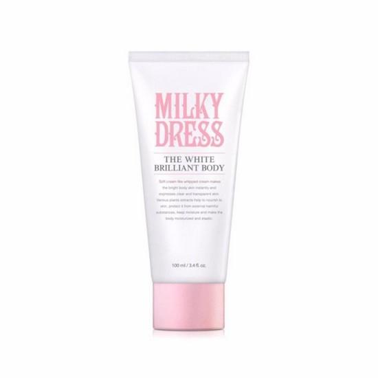 [BIG DEALS] Kem Dưỡng Trắng Và Làm Săn Chắc Da Toàn Thân Milky Dress The White Brilliant Body