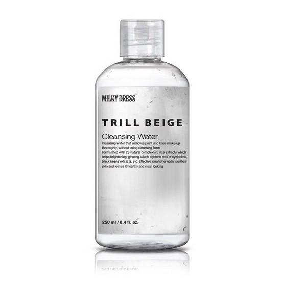 [BIG DEALS] Nước Tẩy Trang Dịu Nhẹ Cho Mặt, Mắt Và Môi Milky Dress Trill Beige Cleansing Water