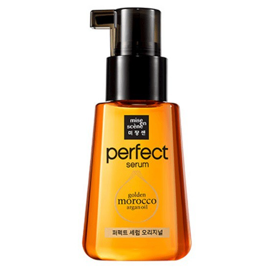 Serum Phục Hồi Tóc Hư Tổn Mise En Scene Perfect Serum Golden Morocco Argan Oil 80ml