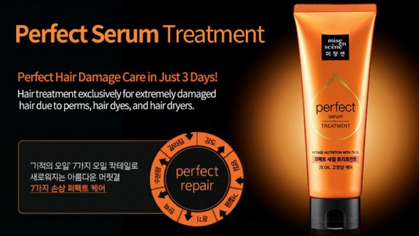 Ủ Tóc Phục Hồi Tóc Hư Tổn Mise En Scene Perfect Serum Treatment