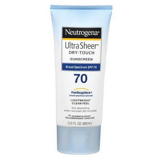 Kem Chống Nắng Neutrogena Ultra Sheer Dry-Touch Sunscreen SPF70 (88ml)