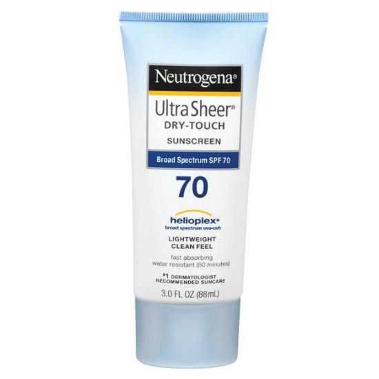 Kem Chống Nắng Neutrogena Ultra Sheer Dry-Touch Sunscreen SPF70 (88ml)