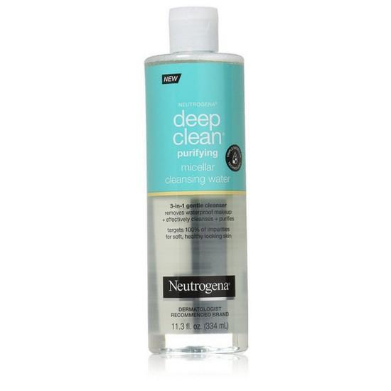 Nước Tẩy Trang Làm Sạch Sâu Neutrogena Deep Clean Purifying Micellar Cleansing Water 334ml