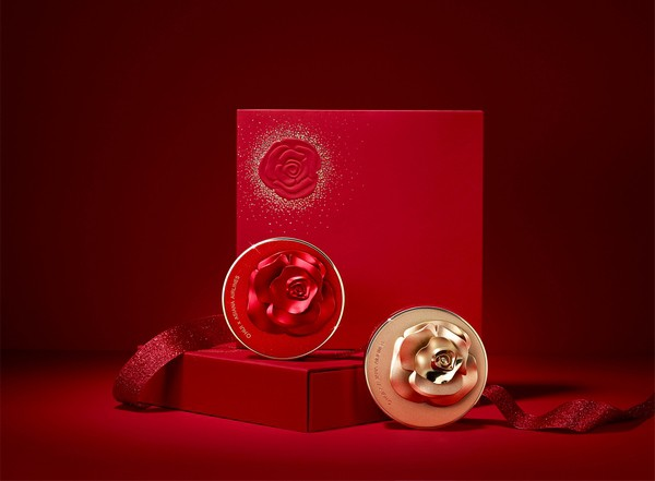 Image result for Ultimate Cover Cushion Moisture Red & Gold Rose Petal Special Edition II