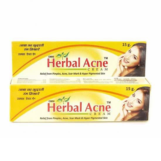 Kem Trị Mụn Thảo Dược Omni Herbal Acne Cream 15g