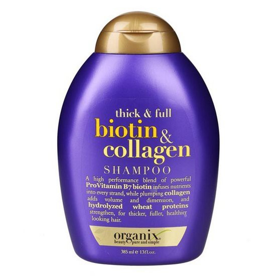 [NEW] Dầu Gội Kích Mọc Tóc OGX Thick And Full Biotin And Collagen Shampoo 385ml