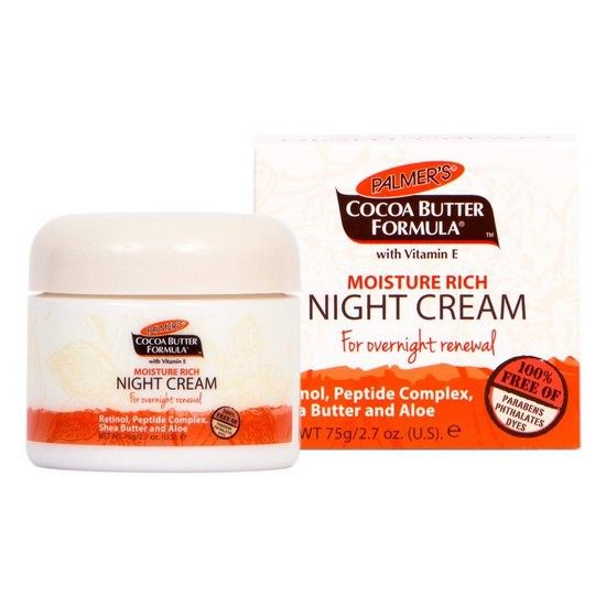 Kem Dưỡng Da Ban Đêm Palmer's Moisturizing Rich Night Cream 75g