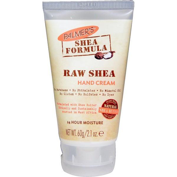 Kem Dưỡng Da Tay Giữ Ẩm Bơ Hạt Mỡ Palmer's Raw Shea Hand Cream 60g