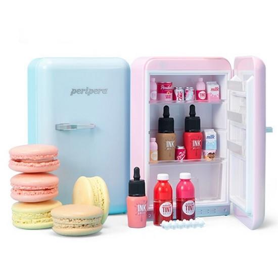 Bộ Son Tủ Lạnh Peripera Peri's Mini Fridge [Dal Dal Factory Collection]