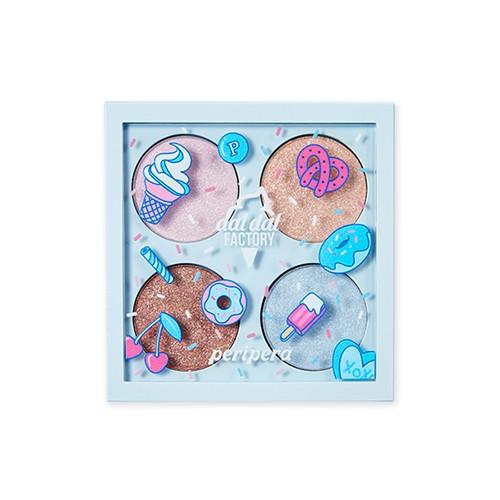 Phấn Mắt Ánh Kim Tuyến Peripera Sugar Twinkle Glitter Palette