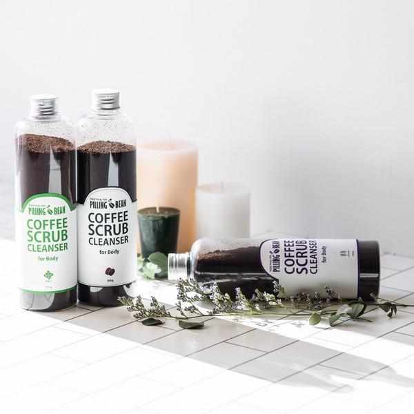 [NEW] Tẩy Tế Bào Da Chết Toàn Thân Từ Bột Café Nguyên Chất Pilling Bean Facial Scrub Cleanser For Body