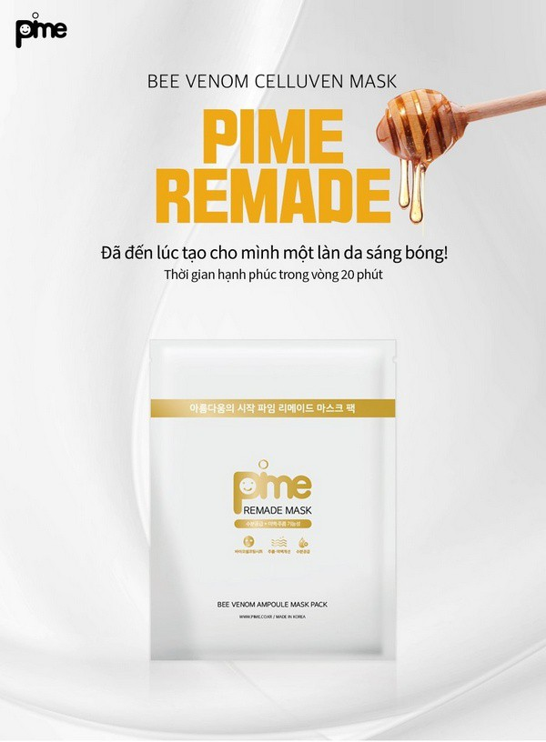 Mặt nạ dưỡng ẩm pime remade mask